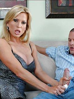 Hot Mature Handjob Porn Pics